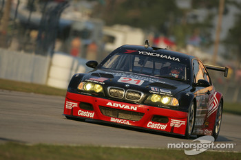 #21 BMW Team PTG E46 M3: Bill Auberlen, Joey Hand, Ian James