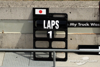 Quiet day for Takuma Sato