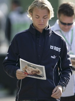 Nico Rosberg with the Red Bulletin