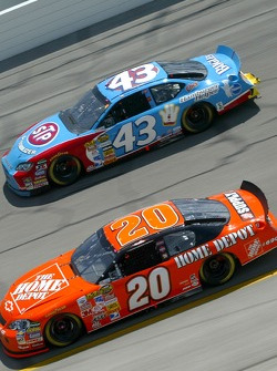 Tony Stewart and Bobby Labonte