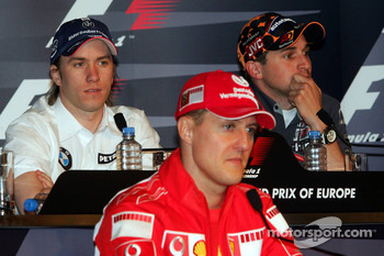 Thursday FIA press conference: Nick Heidfeld, Michael Schumacher and Christijan Albers
