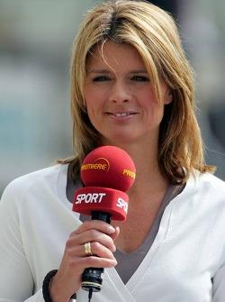 Maren Braun TV commentator Premiere television