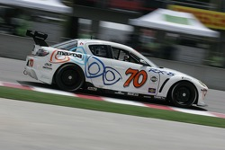 #70 SpeedSource Mazda RX-8: David Haskell, Sylvain Tremblay