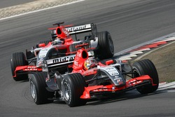Tiago Monteiro leads Christijan Albers