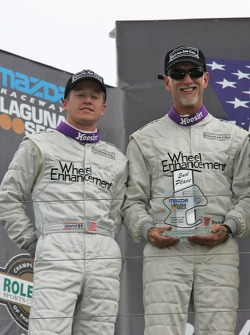 Podium: Patrick Long and Brent Martini