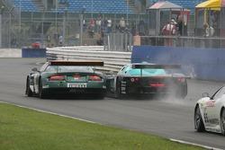 #23 Aston Martin Racing BMS Aston Martin DBR9: Fabrizio Gollin, Fabio Babini, #2 Vitaphone Racing Team Maserati MC 12 GT1: Jamie Davies, Thomas Biagi