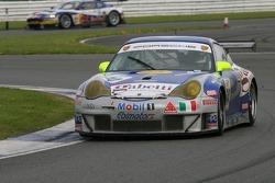 #74 Ebimotors Porsche 996 GT3 RSR: Luigi Moccia, Emanuele Busnelli