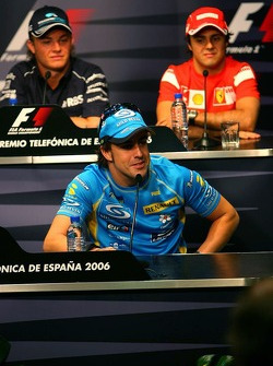 FIA Thursday press conference: Fernando Alonso, Nico Rosberg and Felipe Massa