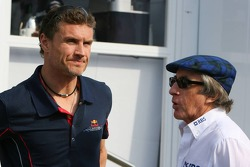 David Coulthard and Sir Jackie Stewart