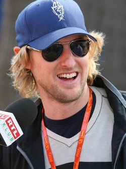 Actor Owen Wilson promoting new animated film