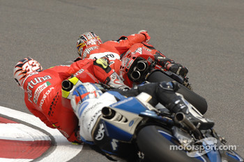 Loris Capirossi and Marco Melandri