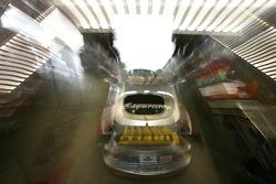 Multimatic Motorsports Team Panoz garage area