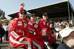Casper Elgaard, Philip Andersen and John Nielsen