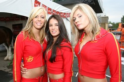 Charming Budweiser girls