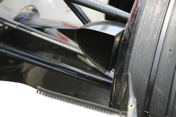 Brake duct of Honda RA106
