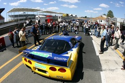 Luc Alphand Aventures Corvette C5-R heads to scrutineering