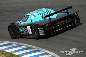#1 Vitaphone Racing Team Maserati MC 12 GT1: Michael Bartels, Andrea Bertolini
