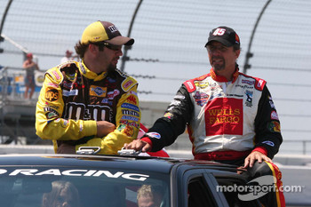 Elliott Sadler and Kyle Petty