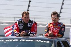 Ryan Newman and Jeff Gordon