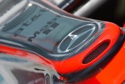 McLaren front nose
