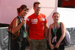 Michael Schumacher in charming company