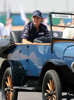 Drivers parade: Nico Rosberg