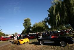 A car fest at Portland International Raceway