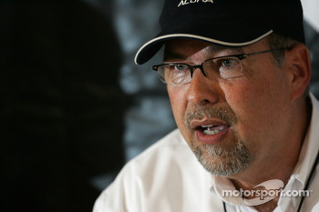 Acura press conference: Robert Clarke