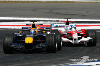 Christian Klien and Jarno Trulli