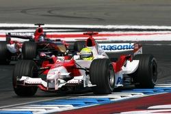 Ralf Schumacher leads Scott Speed