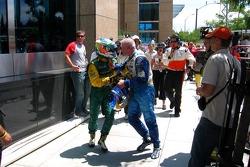 The Alex Tagliani vs Paul Tracy fight