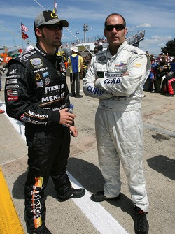 Paul Menard and P.J. Jones