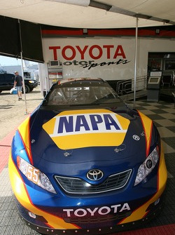 Toyota Racing display: the 2007 Toyota NASCAR Nextel Cup car