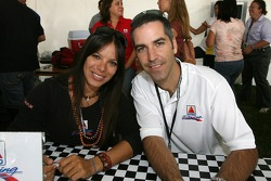 Milka Duno and Joao Barbosa