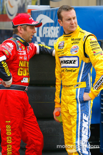 Greg Biffle and Kurt Busch