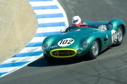 #102, 1957 Aston-Martin DBR2, Greg Whitten