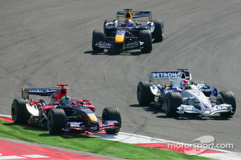 Vitantonio Liuzzi and Robert Kubica