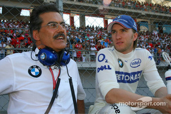 Dr. Mario Theissen and Nick Heidfeld