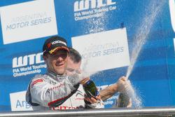 Podium: race winner Sébastien Loeb, Citroën