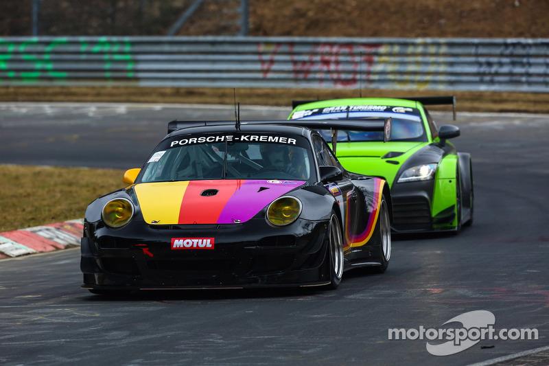 Porsche Kremer At March Pre Season Testing