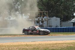 Nikko Reger crashes