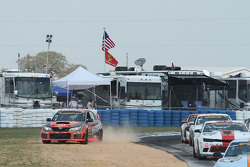 #76 Compass360 Racing Subaru WRX STI: Ray Mason, Pierre Kleinubing in trouble