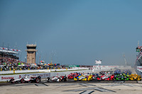 Start: Will Power, Team Penske Chevrolet leads