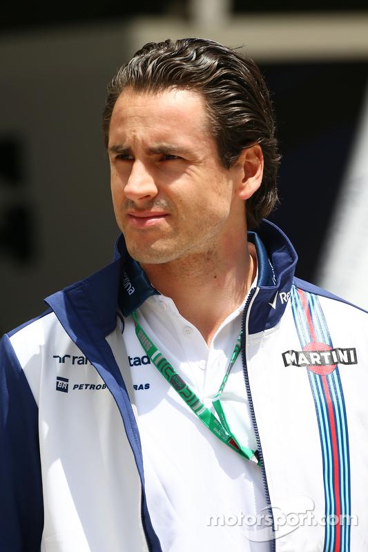 Adrian Sutil, Williams-Ersatzfahrer