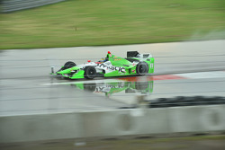 Stefano Coletti, KV Racing Technology Chevrolet and Gabby Chaves, Bryan Herta Autosport Honda