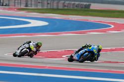 Aleix Espargaro, Team Suzuki MotoGP and Cal Crutchlow, Team LCR Honda