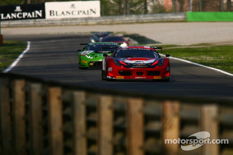 #10 Akka ASP Ferrari 458 Italia: Gabriel Balthazard, Maurice Ricci, Tristan Vautier