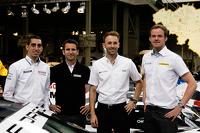Sébastien Buemi, Romain Dumas, René Rast, and Matt Howson