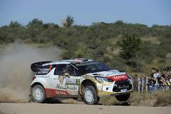 Khalid Al-Qassimi And Chris Patterson, Citroën Ds3 Wrc, Citroën World Rally Team