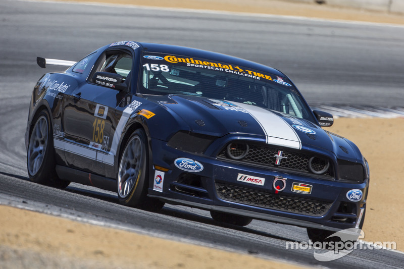 #158 Multimatic Motorsports Ford Mustang Boss 302R: Jade Buford, Austin Cindric